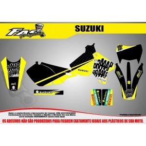 Kit Gráfico Braaap Braaap Racing Suzuki DRZ 400
