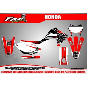 Kit Gráfico Braaap Braaap Racing Honda CRF 230