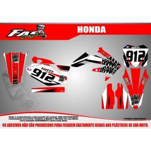 Kit Gráfico Braaap Braaap Racing Honda CRF 250 R