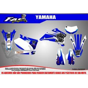 Kit Gráfico Braaap Braaap Racing Yamaha WR 250 F
