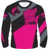 Camisa Piloto Braaap Braaap Racing Pink 21