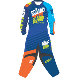 Conjunto Italian Braaap Off Road Color